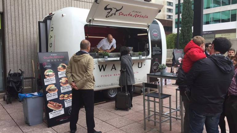 Llega la primera food truck al corazón financiero de Madrid