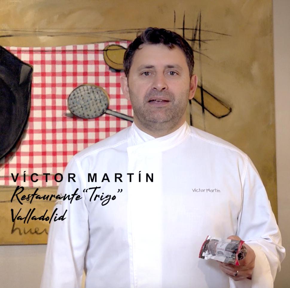 Victor Martin, 'El Trigo, receta morcilla de Wagyu'